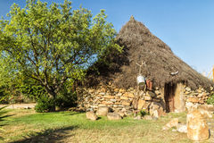 La casa tradizionale della Sardegna (Italia) Fotografia Stock Libera da Diritti