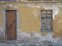 La casa vieja lanzada. Fotografía de archivo