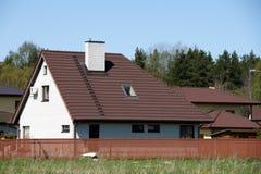 La casa y el cercado Imagen de archivo