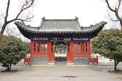 La casa y el pabellón del jardín chino Fotografía de archivo libre de regalías