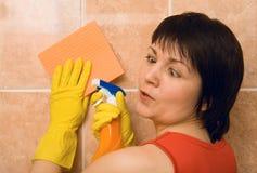 la casalinga di emozioni si è stancata Fotografia Stock