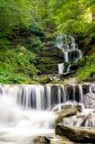 La cascada cárpata Shypit Fotos de archivo