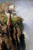 La cascada de Epupa, Namibia Imagen de archivo libre de regalías