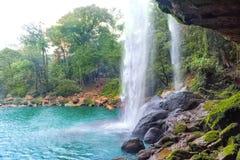 La cascada de Misol ha Fotos de archivo libres de regalías