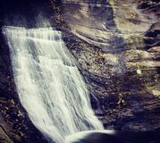 La cascada de Penedo Imagen de archivo