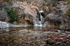 La cascada de Suchurum, ciudad de Karlovo, Bulgaria Fotos de archivo libres de regalías