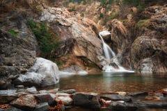 La cascada de Suchurum, ciudad de Karlovo, Bulgaria Imagenes de archivo