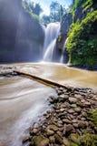 La cascada de Tegenungan Fotografía de archivo libre de regalías