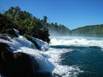 La cascada del Rin en Suiza Fotografía de archivo libre de regalías