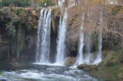 La cascada duden el pavo del selale Fotos de archivo libres de regalías