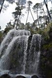 La cascada en Apatlaco5 Foto de archivo libre de regalías