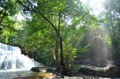 La cascada en Asia Fotografía de archivo