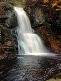 La cascada en Bushkill cae PA foto de archivo