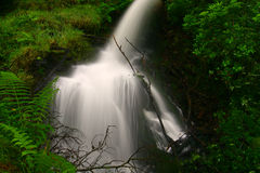 La cascada hermosa Fotografía de archivo libre de regalías