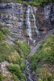 La cascada hermosa llamó a Bridal Veil Fotografía de archivo libre de regalías