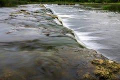 La cascada más ancha en Europa Imagen de archivo libre de regalías