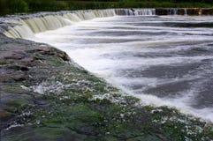 La cascada más ancha en Europa Foto de archivo libre de regalías