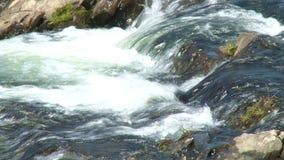 La cascada superior Escondida en la Argentina almacen de video