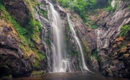 La cascade célèbre Toxa Image libre de droits
