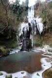 La cascade congelée Photographie stock
