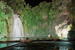 La cascade d'Isola Liri-Frosinone Image libre de droits