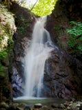 La cascade d'Otaki-Mentaki sur la hausse de route de Nakasendo entre Magome et Tsumago images stock