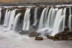 La cascade de Selfoss en Islande Photographie stock libre de droits