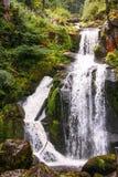 La cascade de Triberg en Allemagne, forêt noire Photographie stock libre de droits