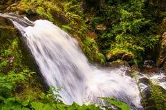 La cascade de Triberg en Allemagne, forêt noire Photographie stock