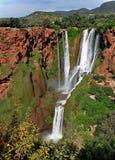 La cascade est un monument naturel, protégé par l'UNESCO morocco l'afrique image stock