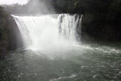 La cascade shifen dedans Taiwan Photo stock