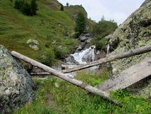 La cascata Fotografie Stock Libere da Diritti