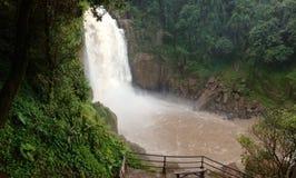 La cascata Immagini Stock Libere da Diritti