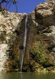 La cascata bianca del ` del `, a nord di Israele Immagini Stock