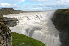 La cascata dei gulfoss Fotografia Stock