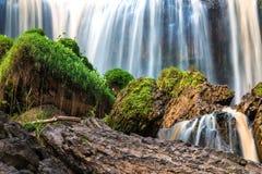 La cascata dell'elefante in Lat del Da, Lam Dong, Vietnam fotografia stock libera da diritti