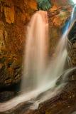 La cascata della porta lenta Fotografia Stock