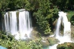 La cascata di duden antalya 1 Immagine Stock Libera da Diritti