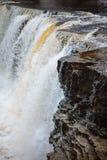 La cascata di Keila-Joa spruzza, cittadino estone Fotografia Stock Libera da Diritti