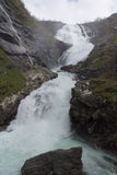 La cascata di Kjosfossen norway Immagine Stock