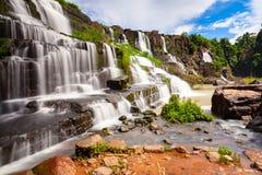 La cascata di Pongour, Lat del Da, Vietnam fotografia stock