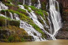 La cascata di Pongour, Lat del Da, Vietnam fotografia stock libera da diritti