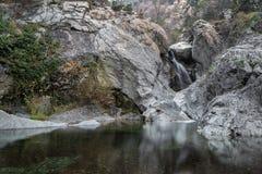 La cascata di Suchurum vicino a Karlovo, Bulgaria Immagini Stock Libere da Diritti