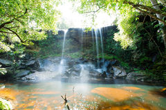 La cascata di Tamsor Nua Fotografie Stock