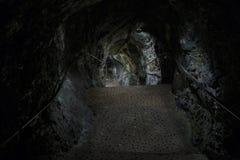 La cascata di Trummelbach è la più grande cascata in Europa, dentro Fotografie Stock