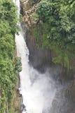 La cascata tre-a file Immagini Stock Libere da Diritti