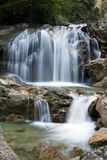 La cascata vicino füssen Fotografia Stock
