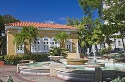 La Casita De informatiecentrum van de bezoeker, oud San Juan Royalty-vrije Stock Foto's