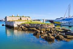 La Cassa. Bisceglie. Puglia. Italy. Royalty Free Stock Images