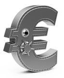 La cassaforte dell'euro Fotografia Stock